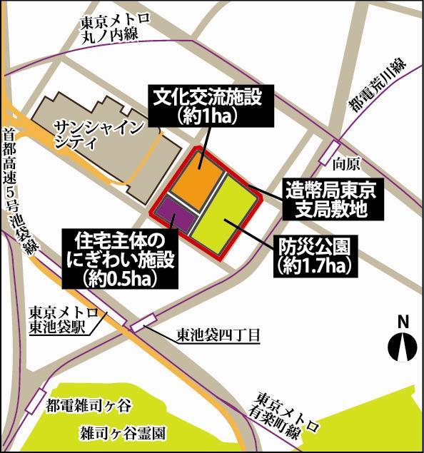 造幣局東京支局閉鎖後の土地利用方針