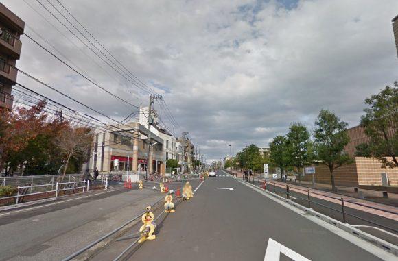 補助87号線ー現地写真ー板橋区加賀