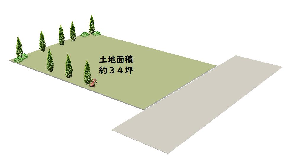 豊島区南池袋-土地分譲-区割り図