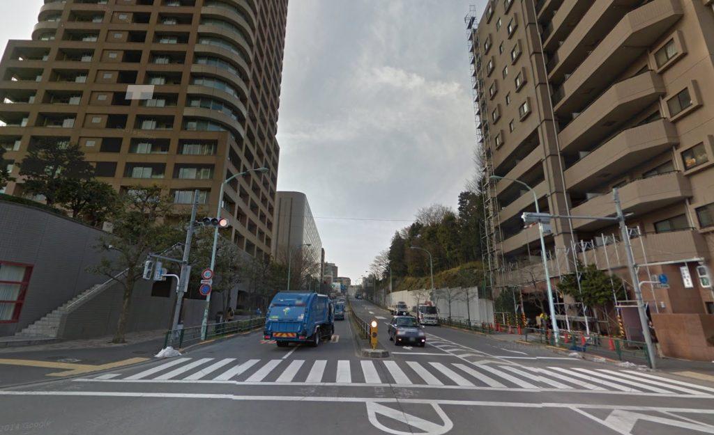都市計画道路-環状第4号線-新宿区西早稲田-幅員22m