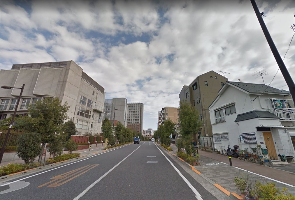 立教通り-豊島区西池袋