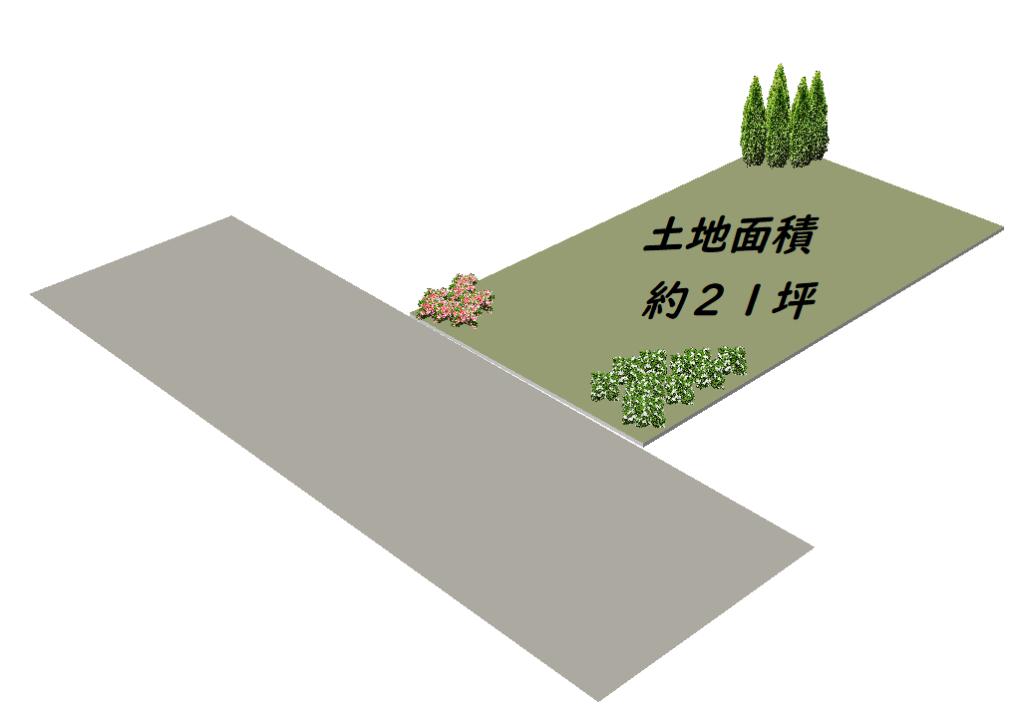 土地_雑司が谷_区画図