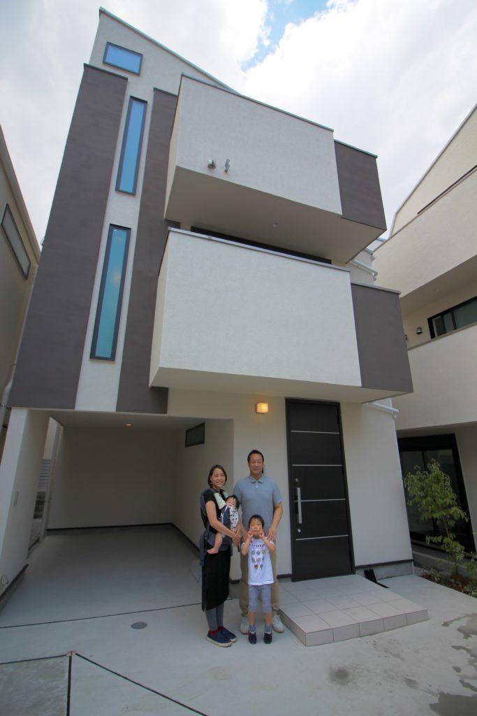 新築戸建て_家族写真